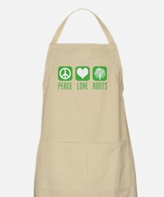Peace Love Roots BBQ Apron