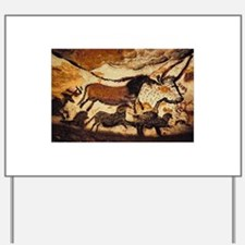 Cave Painting Yard Sign