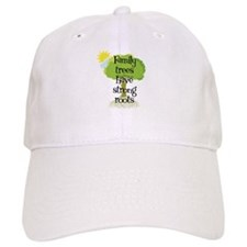 Trees Have Strong Roots Baseball Cap