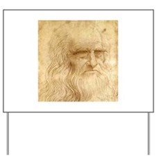 Leonardo Da Vinci Yard Sign