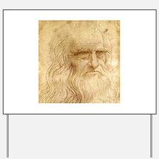Leonardo Da Vinci Yard Sign