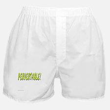 PERVERTABLE Boxer Shorts