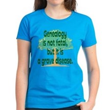 Genealogy is not fatal but it Tee