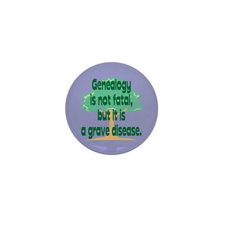 Genealogy Mini Button