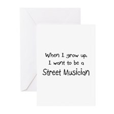 When I grow up I want to be a Street Musician Gree