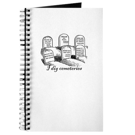 I Dig Cemeteries Journal