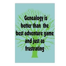 Genealogy Game Postcards (Package of 8)