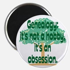 Genealogy Obsession Magnet