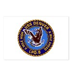 USS Denver LPD-9 Postcards (Package of 8)
