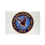 USS Denver LPD-9 Rectangle Magnet (10 pack)