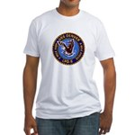 USS Denver LPD-9 Fitted T-Shirt