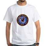 USS Denver LPD-9 White T-Shirt