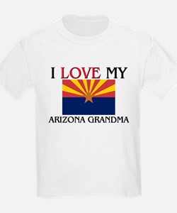 I Love My Arizona Grandma T-Shirt