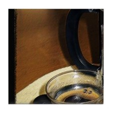 "Tile Coaster ""Coffee Art Puzzle 3"""