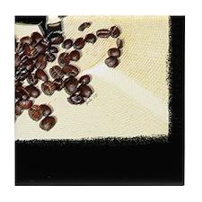 "Tile Coaster ""Coffee Art Puzzle 6"""