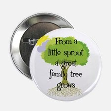 """Little Sprout 2.25"""" Button"""