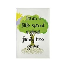 Little Sprout Rectangle Magnet