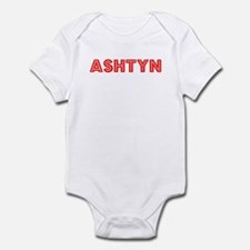 Retro Ashtyn (Red) Infant Bodysuit