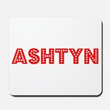 Retro Ashtyn (Red) Mousepad