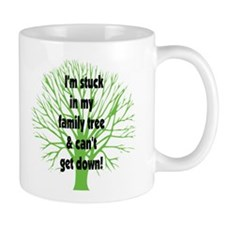 Stuck in Family Tree Mug