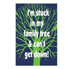 Stuck in Family Tree Postcards (Package of 8)