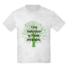 Trace Family History T-Shirt