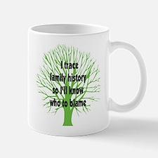 Trace Family History Mug