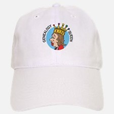 Genealogy Queen (2) Baseball Baseball Cap