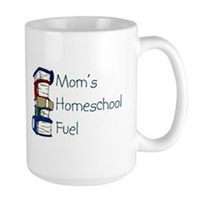 Moms Homeschool Fuel.. large mug