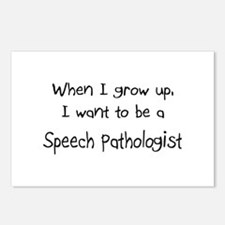 When I grow up I want to be a Speech Pathologist P