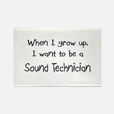When I grow up I want to be a Sound Technician Rec