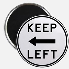 Keep Left Magnet
