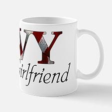 NAVY Girlfriend (Flag) Mug