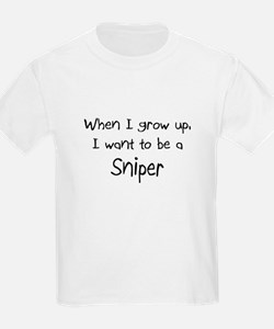 When I grow up I want to be a Sniper T-Shirt