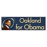 Oakland for Obama bumper sticker