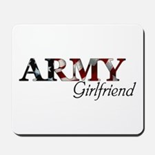 Army Girlfriend (Flag) Mousepad