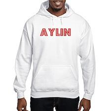 Retro Aylin (Red) Hoodie Sweatshirt