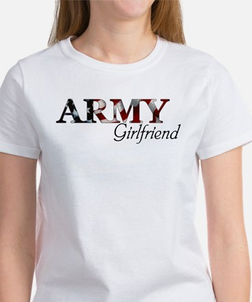 Army Girlfriend (Flag) Women's T-Shirt