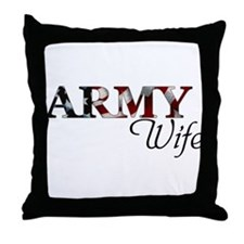 ARMY Wife Throw Pillow