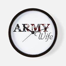 ARMY Wife Wall Clock