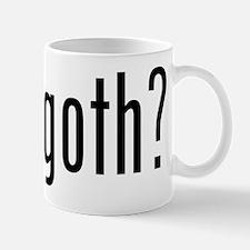 got goth? Mug