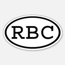 RBC Oval Oval Decal