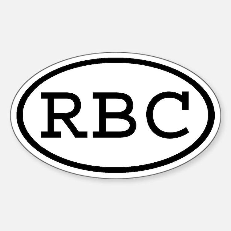 RBC Oval Oval Decal
