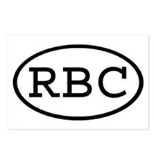 RBC Oval Postcards (Package of 8)