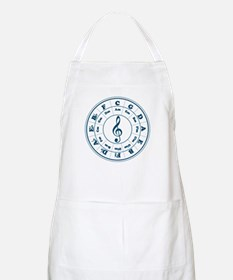 Dk. Blue Circle of Fifths BBQ Apron