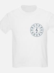 Dk. Blue Circle of Fifths T-Shirt