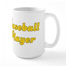 Retro Baseball Pl.. (Gold) Mug