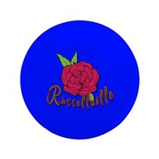 "Russellville Rose 3.5"" Button"