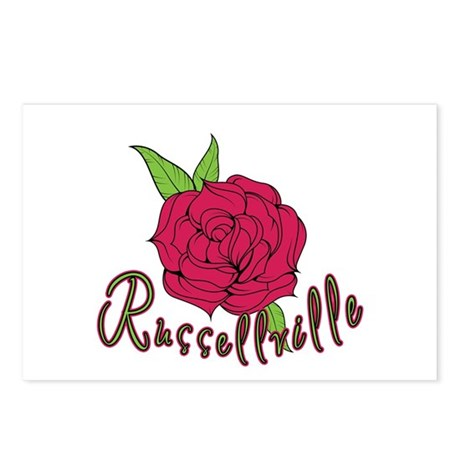 Russellville Rose Postcards (Package of 8)