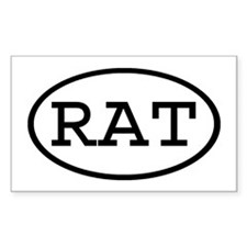 RAT Oval Rectangle Decal
